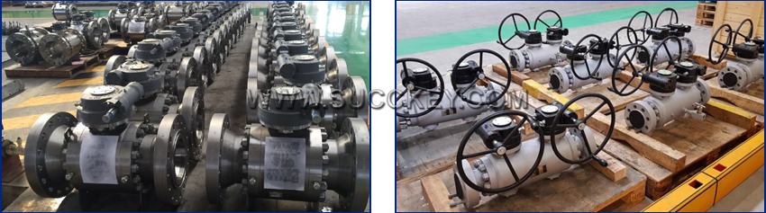 Worm Gearbox For Ball Valve